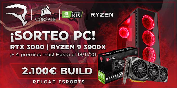 Sorteio de um PC Gamer com RYZEN 9 3900X e RTX 3080