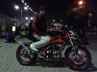Cecen Core & Ninja 150R modifikasi