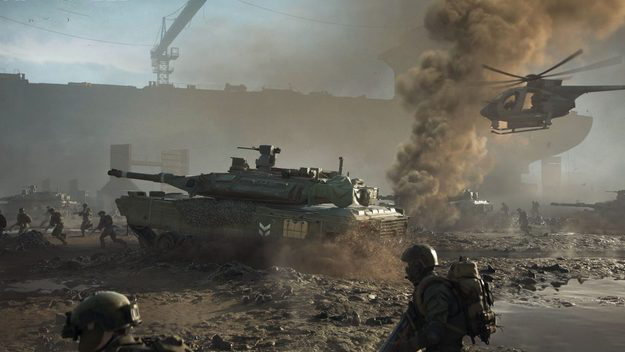 The Chinese have discovered when testing of Battlefield 2042 begins