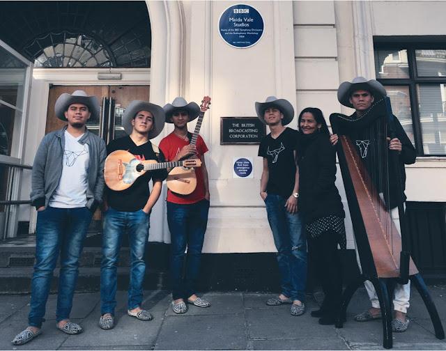 ESPÉCTACULO: Cimarrón hace historia en el estudio más famoso de la BBC de Londres