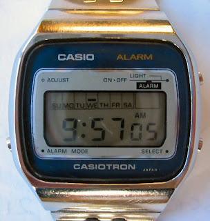 Penemu Jam Tangan Digital - Casio