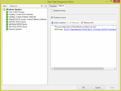Windows Updates during SCCM OSD from Replica WSUS Servers 11