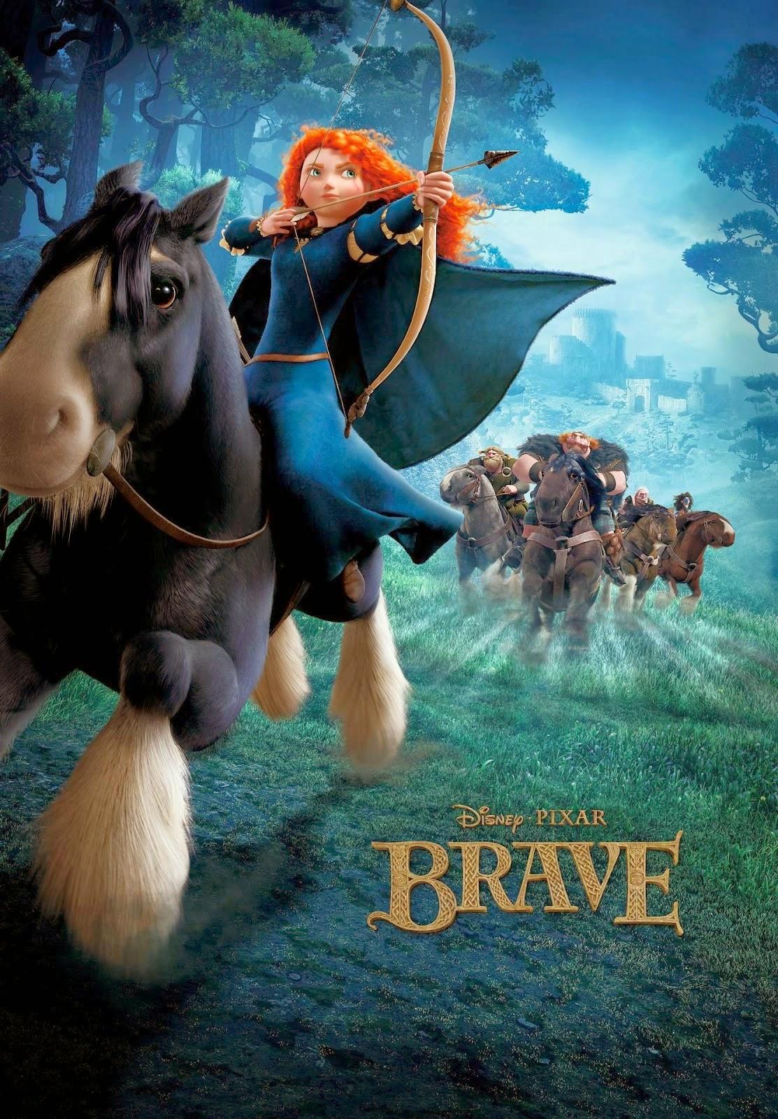فيلم الانمى والاكشن والمغامرات الرائع Brave مدبلج اون لاين