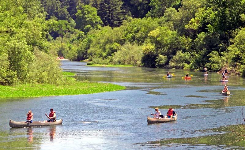 Russian River, California