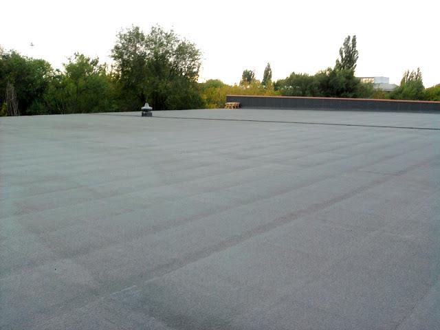 Перекрыть крышу рубероидом