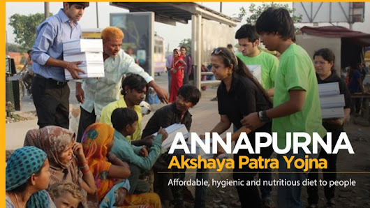 Akshaya Patra's Annapurna Yojana Offers Food for Rs. 10 for Poor in Chandigarh.