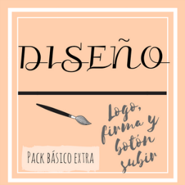 Cartel Pack Básico Extra (Logo, firma y botón subir)