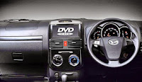 Daihatsu Terios R Adventure, interior