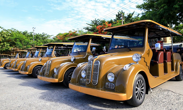 Xe điện phố cổ - Hoi An Shuttle Bus
