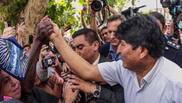 """Evo Morales: """"Pronto recuperaremos la democracia"""" en Bolivia"""