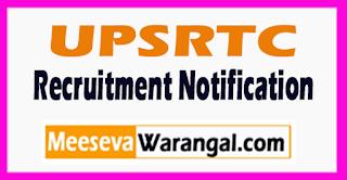 UPSRTC Recruitment Notification 2017