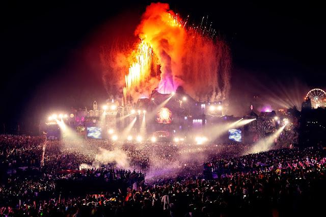 Festival Tomorrowland em Boom na Bélgica