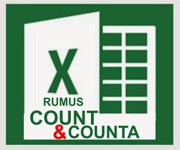 Fungsi Rumus COUNT dan COUNTA di Microsoft Excel 2013