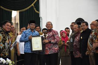 Pemkab Kuningan Raih Dua Penghargaan Sinergitas Kinerja Kecamatan Tingkat Jawa Barat