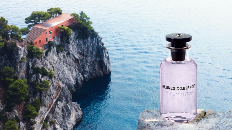Louis Vuitton Heures d'Absence perfume bottle