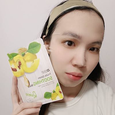 Review; SNP - Fruits Gelato Soothing Mask + First Impression