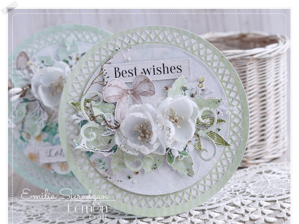 Round Romantic Cards