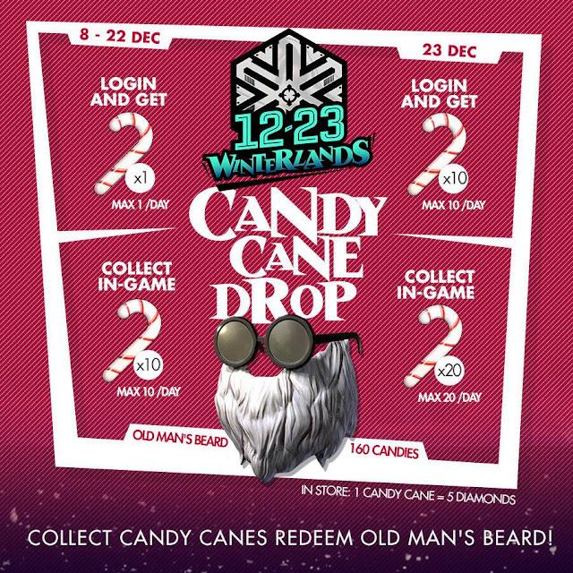 Bahas Event Winterland Free Fire, 5 Lokasi Terbaik Untuk Berburu Candy Canes Map Bermuda