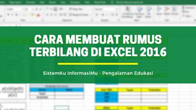 Rumus Terbilang di Excel