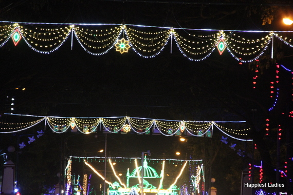 Mysore Dasara Street Lightings14