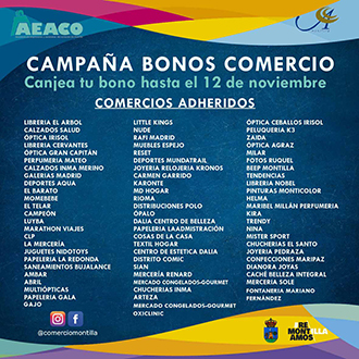 AEACO - BONOS COMERCIO MONTILLA