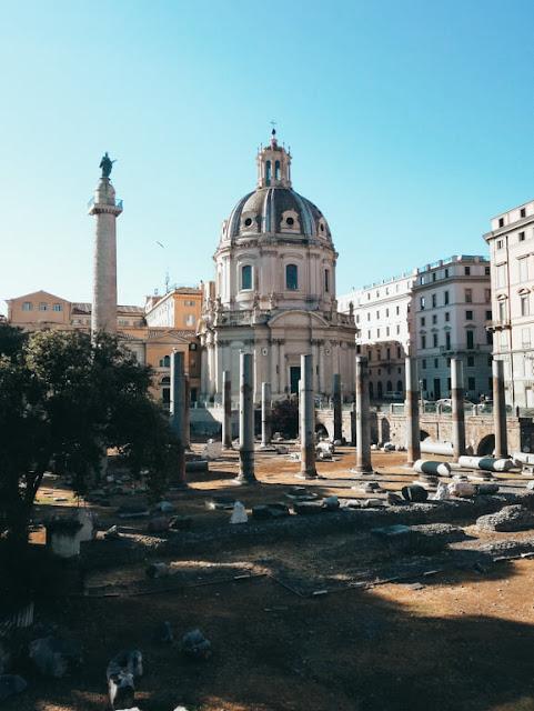 Rzym; Rome; Italy; Włochy; forum traino