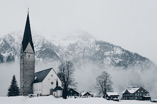 Church in Winter - Photo by Mike Kotsch on Unsplash