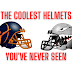 The Coolest Football Helmets You've Never Seen