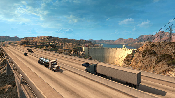 American Truck Simulator Arizona Full Crack