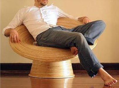 Going Green With Bamboo Chair