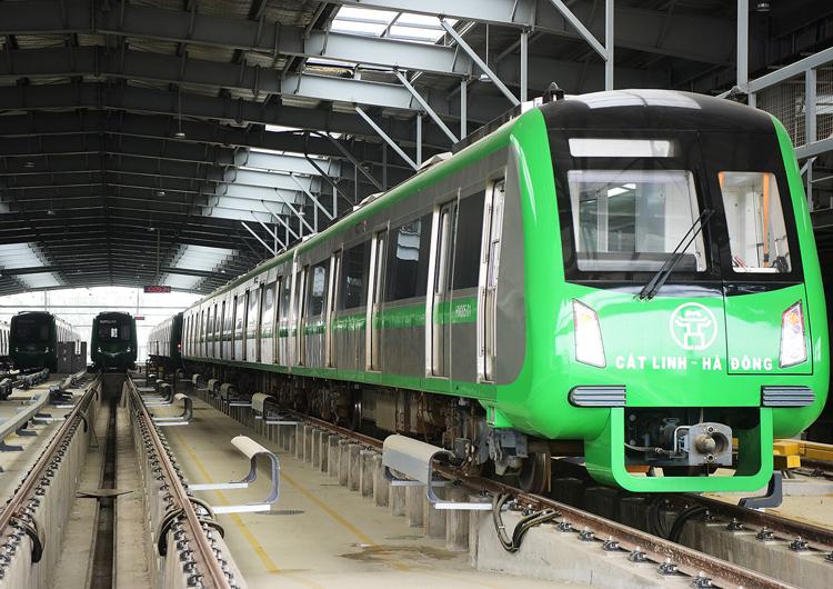 Đường sắt Hà Đông - Cát Linh là dự án giao thông trọng điểm năm 2019