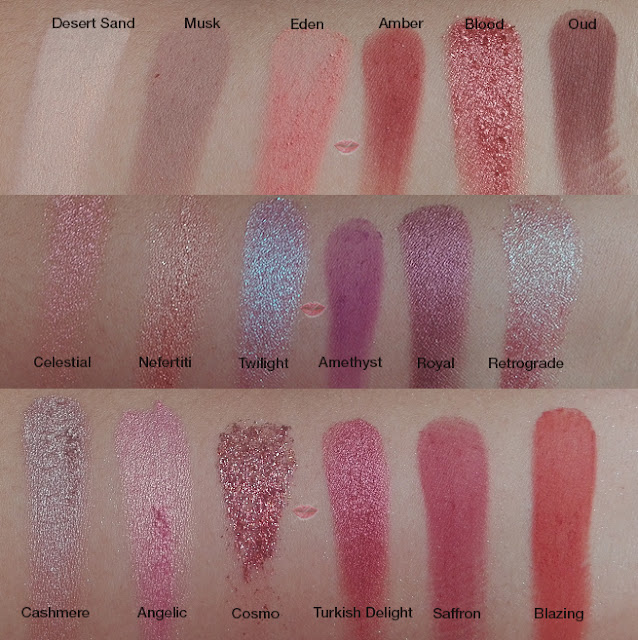 A picture of Desert Dusk by Huda Beauty swatch