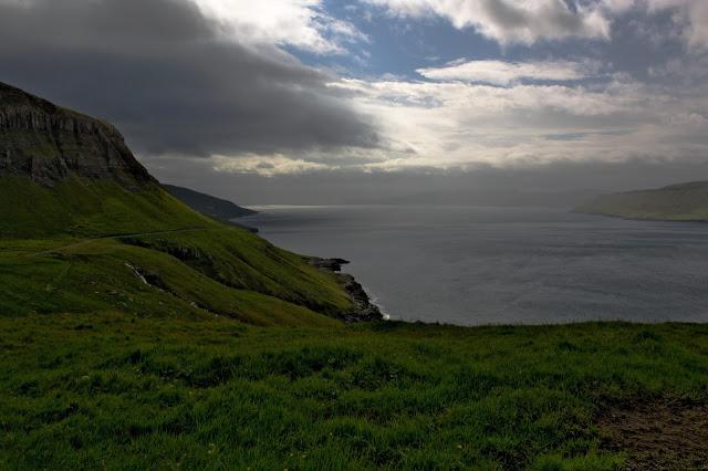 Droga z Velbastaður do Syðradalur na Streymoy