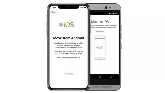 Cara beralih dari Android ke iPhone