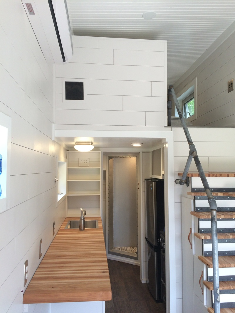 8 Staycation Worthy Tiny Homes For Sale: TINY HOUSE TOWN: Skinny Tiny House (174 Sq Ft