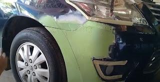 Cara Untuk Dempul Mobil Penyok