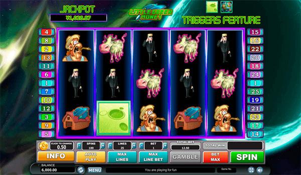 Main Gratis Slot Indonesia - Little Green Money Habanero