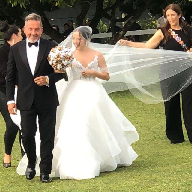 Hija de Ricardo Montaner llegó virgen al matrimonio