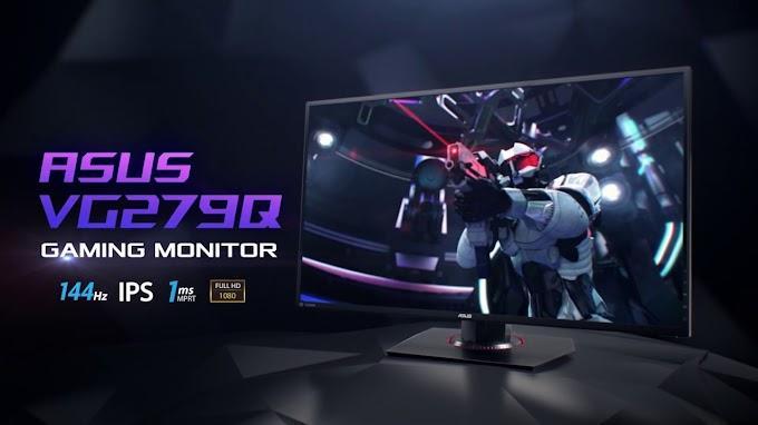 Sorteio de um Monitor Gamer ASUS 144Hz
