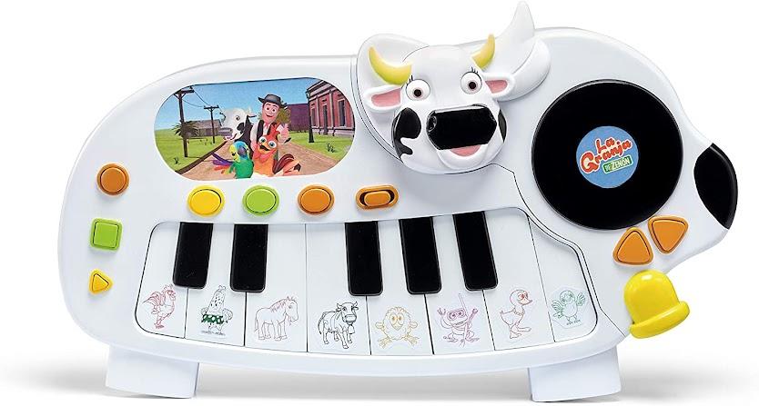 teclado - piano - vaca - loca - vacaslecheras.net