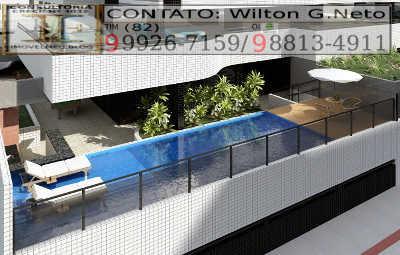 Uma ótima piscina com deck molhado para o desfrute de um maravilhoso dia de descanso e lazer