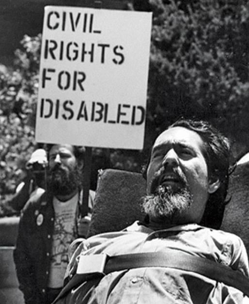 Ed Roberts, pioniere del movimento per i diritti dei disabili