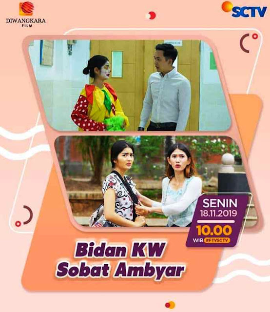 Daftar Nama Pemain FTV Bidan KW Sobat Ambyar SCTV Lengkap