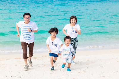 家族写真 沖縄