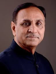 Vijay Rupani Family Wife Son Daughter Father Mother Age Height Biography Profile Wedding Photos