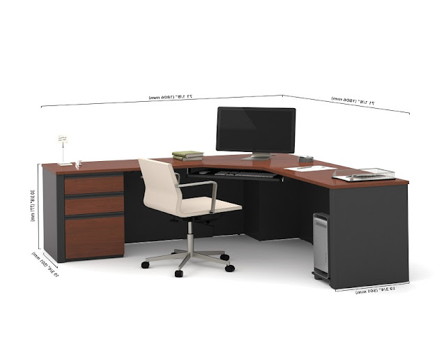 best buy l shaped office desk furniture Wayfair for sale online