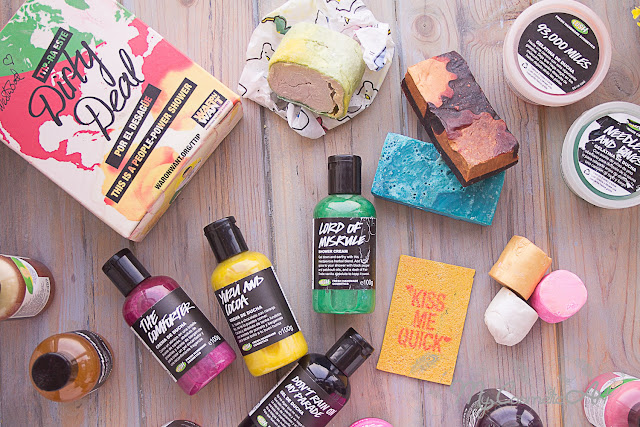 7 formas distintas de darte una ducha con Lush