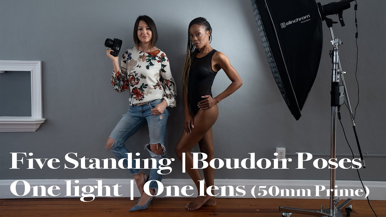 Boudoir Photography: Five Standing Boudoir Poses By the Wall