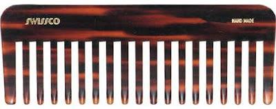 Swissco Tortoise Best Wet Comb Wide Tooth
