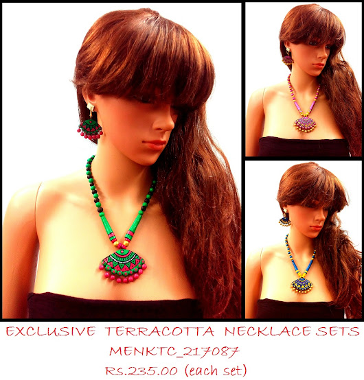 Terracotta Necklace to go seamlessly with formal or casual attire